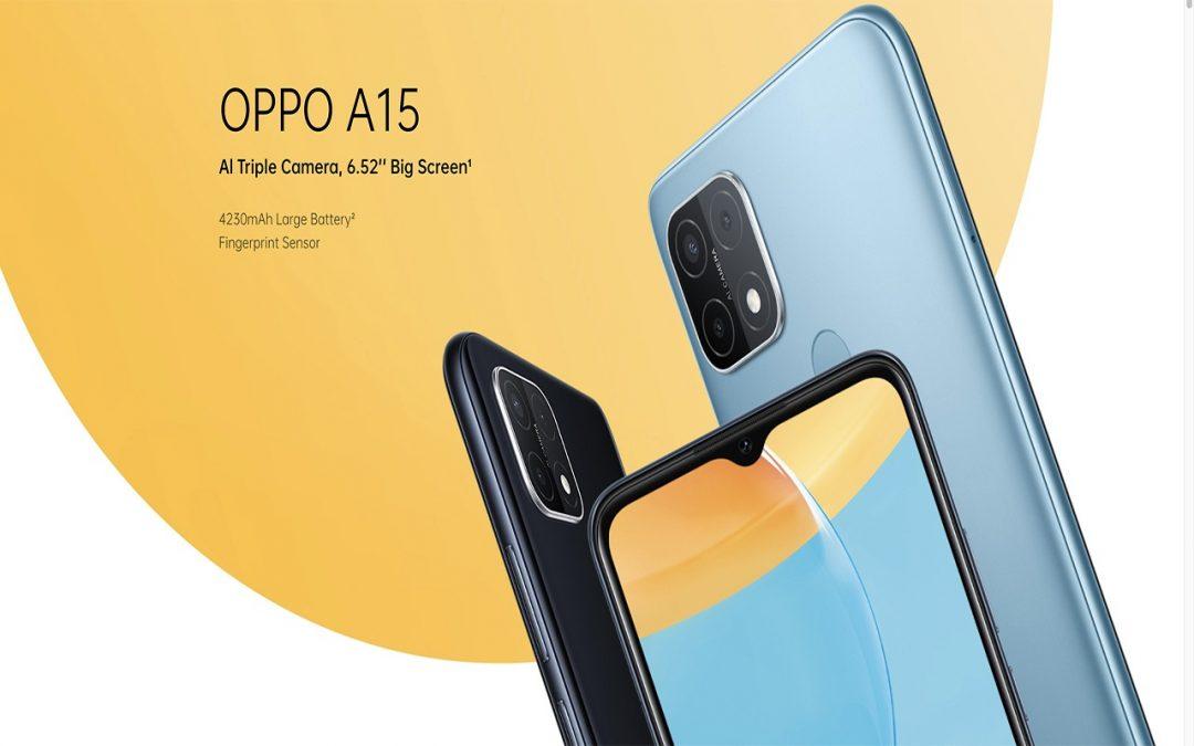 ओप्पोको सुलभ अनि आकर्षक ए १५ स्मार्टफोन नेपाली बजारमा सार्वजनिक हेर्नुहोस् मूल्य अनि फिचर