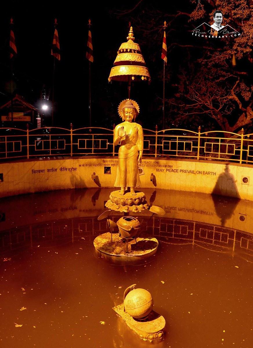 Statue of Buddha - Swyambhunath