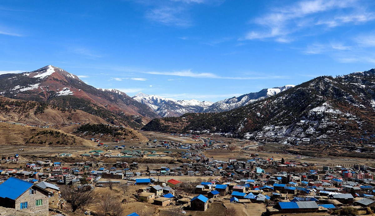 View of Jumla Valley