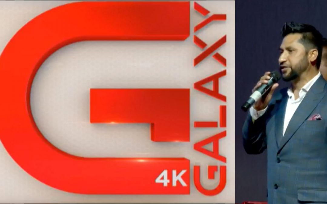 First 4K TV in Nepal by Rabi Lamichhane