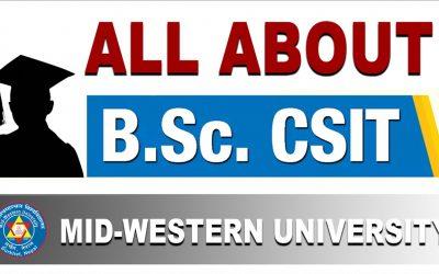 All About B.Sc.CSIT Program at Mid-Western University