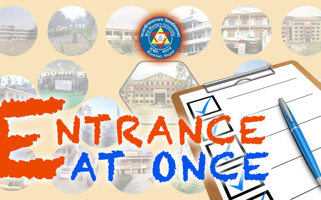 MU Conducting Entrance Exam at Seventeen Campuses for 27 Different Subjects at Once