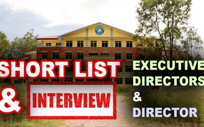 MU Published Short List and Interview Date for Executive Director and Director Positions