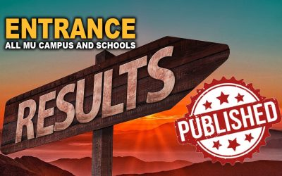 Bachelor Level Entrance Exam Result of Different Campus and Schools (MU)