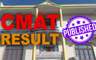 MUSOM Published CMAT Result of BBA and BHM 2021 Intake