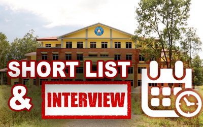 MU Published Short List and Interview Date for Dean Positions