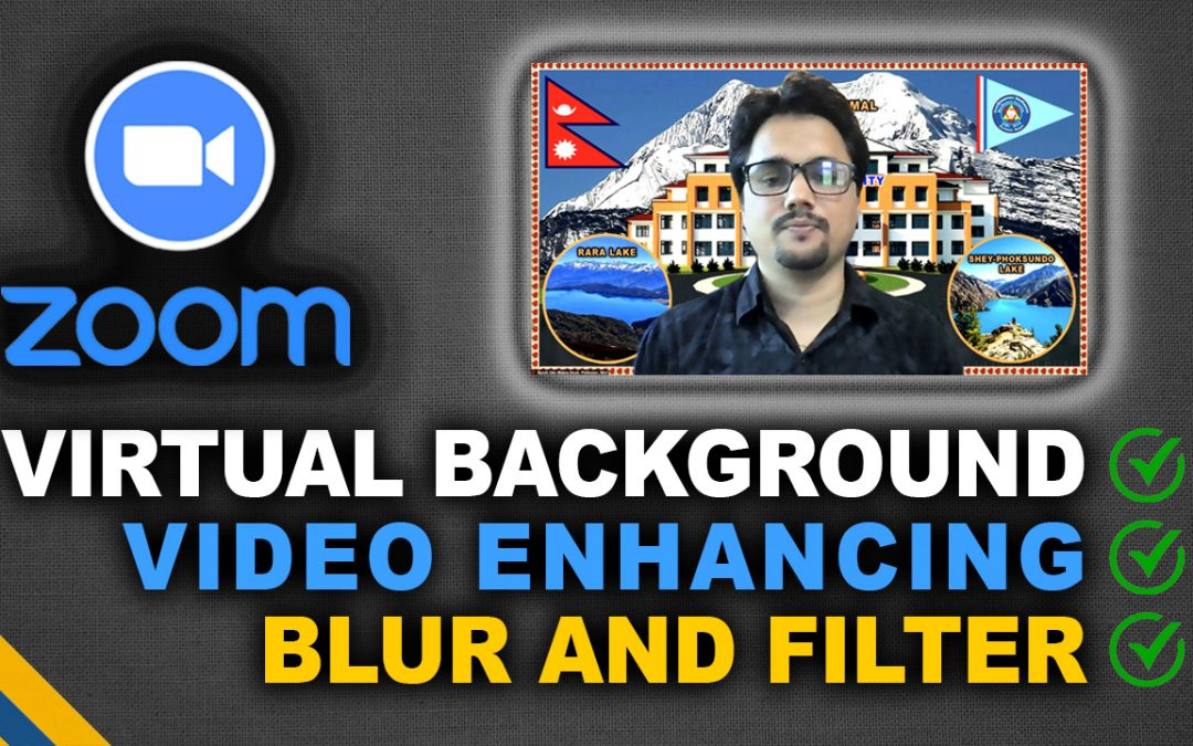 How to Set Zoom Virtual Background and Improve Video Quality [Low Light Solution]